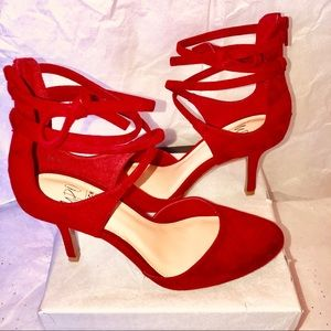 Impo red  suede shoes
